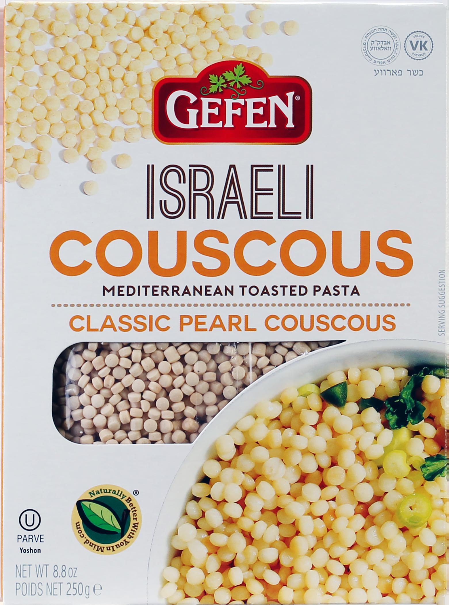 Gefen Israeli Style Couscous Box Kayco
