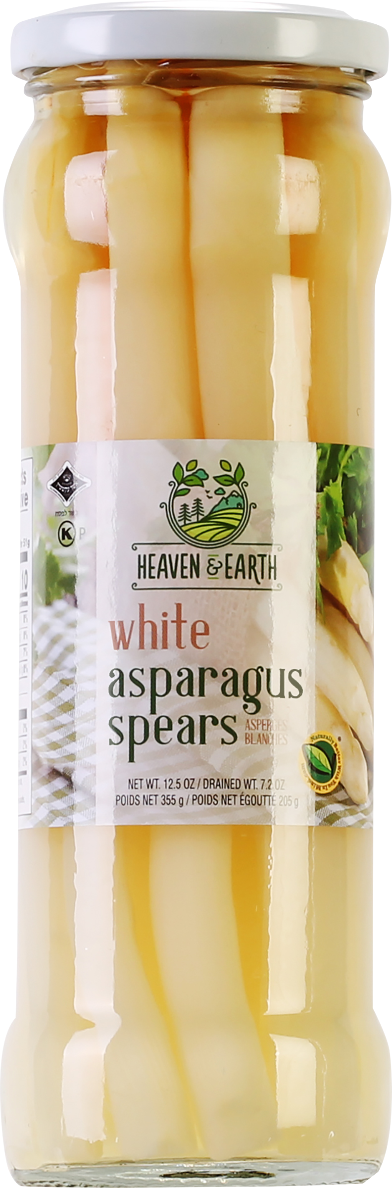 Heaven And Earth White Asparagus Kayco
